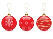 иллюстрация рождества шарика Стоковое Изображение RF