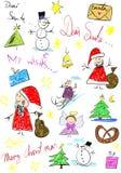 иллюстрация рождества Стоковая Фотография RF