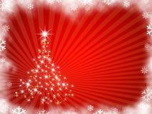 иллюстрация рождества Стоковые Изображения