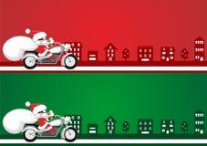 Иллюстрация Санта Стоковые Изображения RF