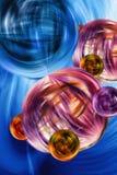 Иллюстрация свободной энергии абстрактная Стоковое фото RF