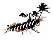 Иллюстрация скейтбордиста Стоковое Изображение