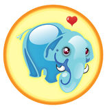 иллюстрация слона Стоковое Фото