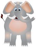 Иллюстрация слона Стоковое Изображение RF
