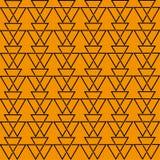 Иллюстрация соединять черные треугольники иллюстрация вектора