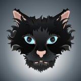 иллюстрация стороны кота милая Стоковое Фото