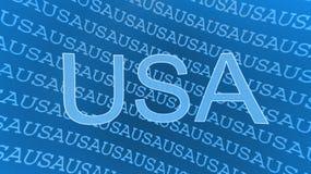 иллюстрация США Стоковые Фото