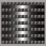 Иллюстрация текстуры предпосылки металла серебряная стальная Стоковое Изображение
