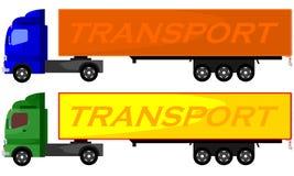 Иллюстрация тележки контейнера Стоковые Изображения