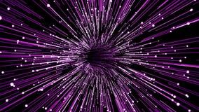 Иллюстрация тоннеля космоса иллюстрация вектора