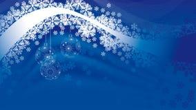 иллюстрация украшения рождества шариков Стоковое фото RF
