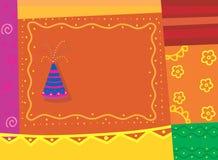 Иллюстрация фейерверков Стоковая Фотография RF
