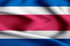Иллюстрация флага Коста-Рика иллюстрация штока