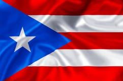 Иллюстрация флага Пуэрто-Рико иллюстрация штока