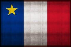 Иллюстрация флага Acadia ржавая бесплатная иллюстрация