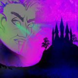 Иллюстрация хеллоуина ужасная с призраком Стоковое фото RF