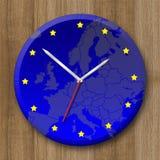 иллюстрация часов Стоковое Фото