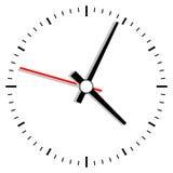 Иллюстрация часов Стоковое Изображение