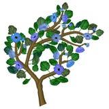 Иллюстрация чувствительной ветви весны Стоковая Фотография