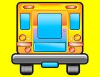 Иллюстрация школьного автобуса Стоковое Фото