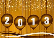 иллюстрация 2013 Новый Год Стоковое Изображение RF