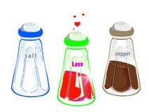 иллюстрация condiment Стоковые Изображения RF