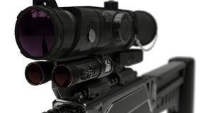 иллюстрация 3d винтовки Стоковое Изображение RF