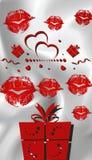 Иллюстрация 3D дня валентинок самая лучшая Стоковые Фотографии RF