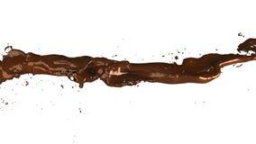 иллюстрация 3D подачи шоколада иллюстрация вектора