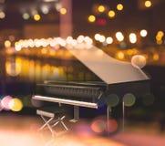 иллюстрация 3d черного рояля иллюстрация штока
