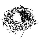 Иллюстрация eps вектора гнезда птицы crafteroks бесплатная иллюстрация