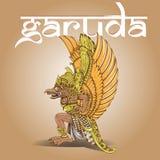 Иллюстрация Garuda с дизайном стиля balinesse бесплатная иллюстрация