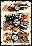 иллюстрация grunge Стоковая Фотография