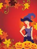иллюстрация halloween торжества счастливая Стоковые Фото