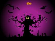 иллюстрация halloween торжества счастливая Стоковые Фотографии RF