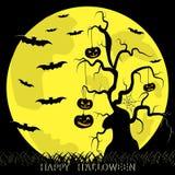 иллюстрация halloween формы Стоковое Изображение RF
