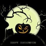 иллюстрация halloween формы Стоковая Фотография