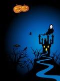 иллюстрация halloween Стоковое Фото
