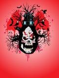 иллюстрация halloween Стоковые Фотографии RF