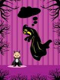 иллюстрация halloween Стоковое Изображение