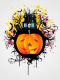 иллюстрация halloween Стоковая Фотография