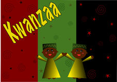 иллюстрация kwanzaa ребенка Стоковые Фото