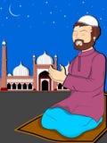 иллюстрация mubarak eid торжества Стоковые Фото