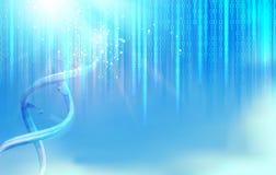Иллюстрация Scince bigdata Стоковые Изображения RF