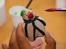 имбирь печений рождества хлеба handmade Стоковое Фото