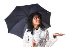 имеет идти дождь быть остановленным Стоковая Фотография RF