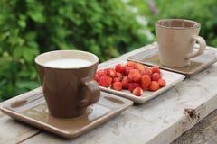 Имейте завтрак Стоковое Изображение