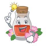 Имейте масло семени плода шиповника идеи на талисмане иллюстрация штока