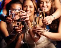 Имейте питье стоковое изображение rf