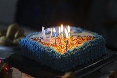 именниный пирог миражирует вектор иллюстрации Стоковое Изображение RF